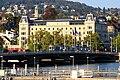 Zürich - Quaibrücke - Haus Bellevue - Bürkliplatz IMG 0832.jpg