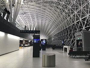 Zagreb Airport - Departures area