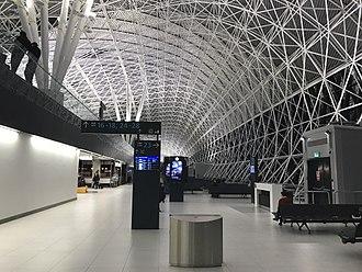 Zagreb Airport - Departures area