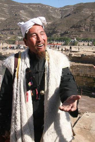 Zamarra (coat) - Man wearing a zamarra