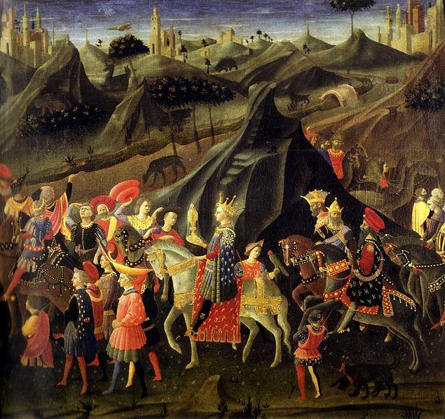 File:Zanobi Strozzi, Le cortège des Rois Mages.jpg