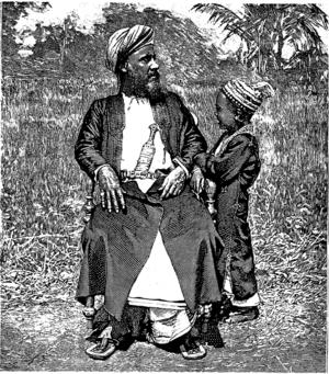 Zanzibari muslim ca 1880