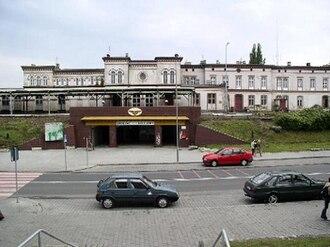 Żary - Train Station in Żary