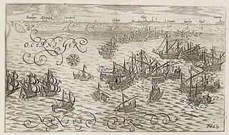 Battle of Sluis (1603) - Battle of Sluis, from the Legermuseum, Delft