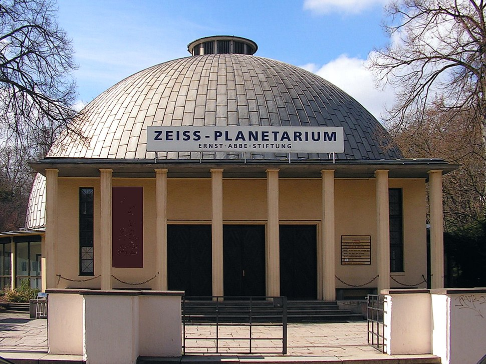 Zeiss-Planetarium 1926 Ernst-Abbe-Stiftung - Jena Th%C3%BCringen Foto Wolfgang Pehlemann Steinberg PICT0028