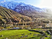 Shades of Spring in the heights of Hindu Kush
