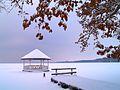 Zima nad Jeziorem Miedwie.JPG