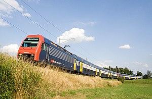 SBB-CFF-FFS Re 450 - Image: Zurich S Bahn