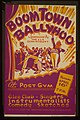 """Boom Town ballyhoo"" - sponsored by the A&R Department - at the Post Gym LCCN98513372.jpg"