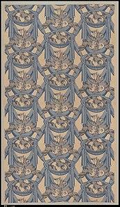 """""""Draperies"""" Textile MET DP293587"""