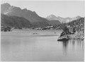 """""""Rac Lake, Kings River Canyon (Proposed as a national park),"""" California, 1936., ca. 1936 - NARA - 519917.tif"""