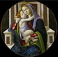 'Madonna and Child', painting by a follower of Sandro Botticelli, c. 1500-1510, El Paso Museum of Art.jpg