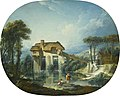 'The Mill of Quiquengrogne at Charenton' by François Boucher.jpg