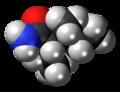 (S,S)-Valnoctamide molecule spacefill.png