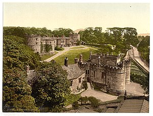 Skipton Castle - Skipton Castle, ca. 1890 - 1900.