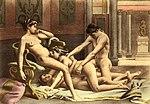 Relations sexuelles à quatre. Édouard-Henri Avril