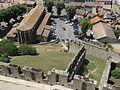 Église Saint-Gimer de Carcassonne et Barbacane de l'Aude 2014.JPG