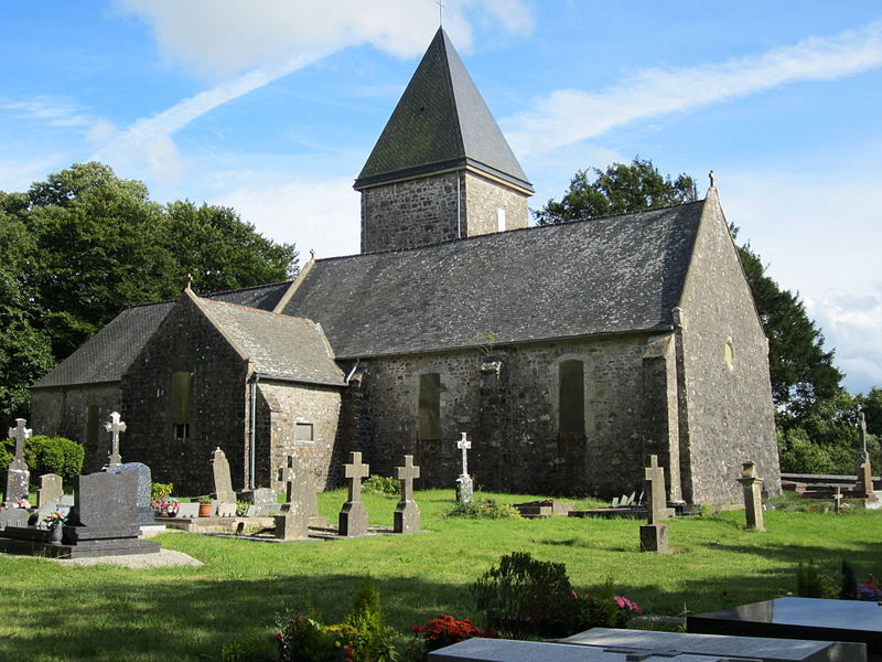 Église Saint-Jean-Baptiste de fr:Taillepied (située sur la commune de Saint-Sauveur-le-Vicomte)