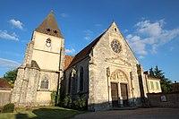 Église Saint-Maurice de Villemeux-sur-Eure le 3 septembre 2014 - 01.jpg
