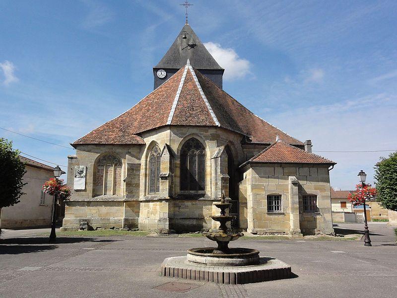 Église Saint-Quentin de Contrisson