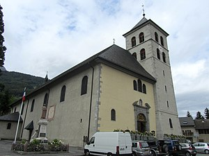 Sallanches - The church in Sallanches