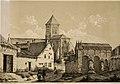 Église st-Jean et auberge cheval blanc Appert par Leblanc 1792.jpg