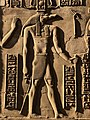 Égypte, Kôm Ombo, Temple double dédié à Haroéris (Horus l'Ancien) et au dieu crocodile Sobek (49785184706).jpg