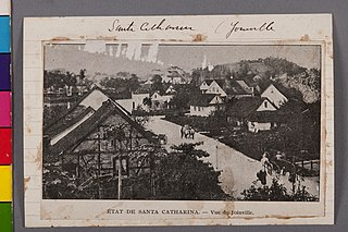 État de Santa Catharina - Vue de Joinville