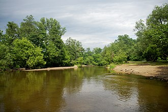 Masovian Landscape Park - Świder river in the Masovian Park