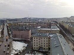 Вид на улицы Сгибнева и Сафонова в Североморске.jpg