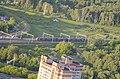 Вид с ЖК 'Триколор' на железнодорожный треугольник к востоку от 'Северянина'.jpg