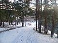 Дорога к трамплину-Winter road to the trampoline, середина ноября 2011 - panoramio.jpg