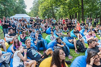 Millennials - Russian young adults at the Geek Picnic. Only 54% of Russian millennials were married in 2016.
