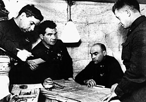 62nd Army (Soviet Union) - 62nd Army command post in December 1942