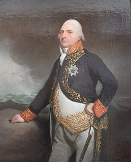 Jan Hendrik van Kinsbergen Dutch admiral