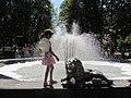 Сквер ім. Героів Великої Вітчизняної Війни. Фонтан з піною 01.JPG