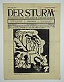 Страница Der Sturm с линогравюрой Маке.jpg