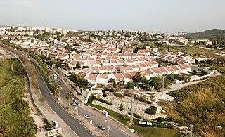 Beit Shemesh City in Israel