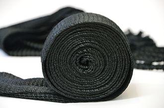 Gartel - Silk woven gartel
