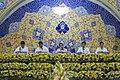 عکس های مراسم ترتیل خوانی یا جزء خوانی یا قرائت قرآن در ایام ماه رمضان در حرم فاطمه معصومه در شهر قم 15.jpg