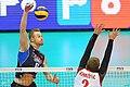 لیگ جهانی والیبال-دیدار صربستان و ایتالیا-۱.jpg