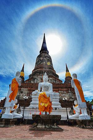 Wat Yai Chai Mongkhon - Chedi of Wat Yai Chai Mongkhon