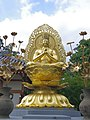 久米寺の大日如来像 Dainichi-nyorai(Vairocana) image in Kume-dera 2013.6.24 - panoramio.jpg