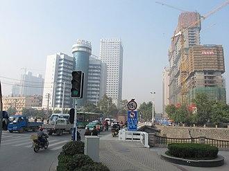 Luyang District - Image: 合肥市庐阳区银环大厦 panoramio