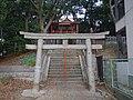 忍陵神社南側の鳥居 四條畷市岡山2丁目 2012.12.17 - panoramio.jpg