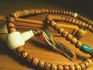 Buddhist prayer beads - Buddhist prayer beads(Chinese tradition)