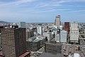 札幌タワー電波塔展望台から札幌駅方面 - panoramio.jpg