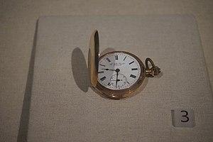 Zhu Rui - A pocket watch Zhu Rui used.