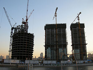 Tianjin World Financial Center - Image: 津塔2009年1月6日