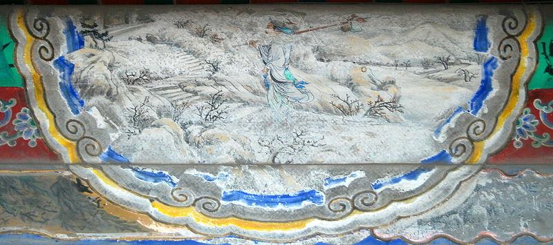 File:颐和园长廊彩绘:林冲风雪山神庙.jpg